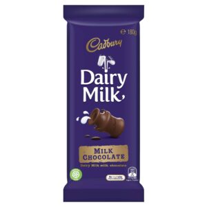 Cadbury Dairy Milk Chocolate 180gm