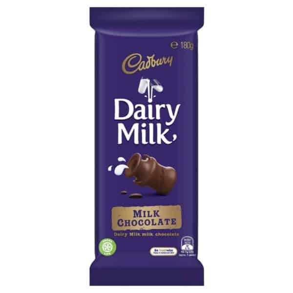 Cadbury Dairy Milk Chocolate 180gm